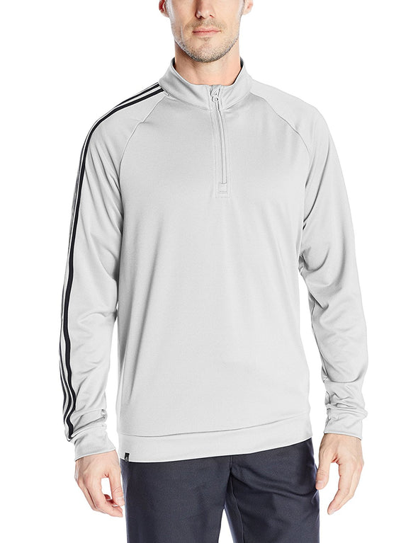 Adidas Golf Men's 3-Stripes 1/4 Zip Layering Top, Color Options