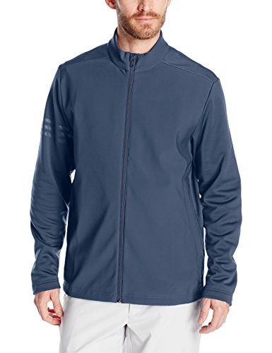 adidas Golf Men's Climastorm Hybrid Heathered Jacket, Several Colors