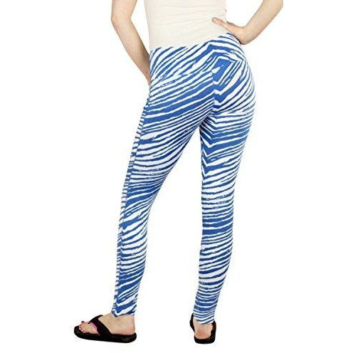 Zubaz NCAA Women's Kentucky Wildcats Team Color Tiger Print Leggings Pants