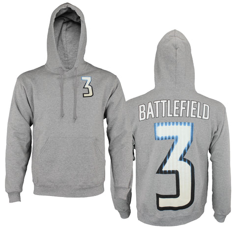 Outerstuff Battlefield 3 Men's Video Game Hooded Sweatshirt Hoodie