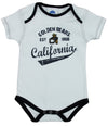 NCAA Infants California Golden Bears 3 Piece Pack Creeper Bodysuit Set