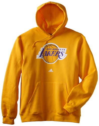 online store sneakers for cheap new collection Adidas NBA Men's Los Angeles Lakers Primary Logo Hoodie