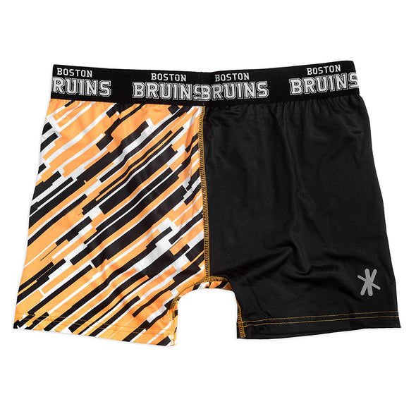 FOCO KLEW NHL Men's Boston Bruins Wordmark Underwear