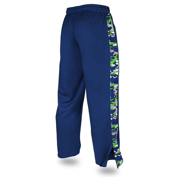 Zubaz Men's NFL Seattle Seahawks Camo Print Stadium Pants