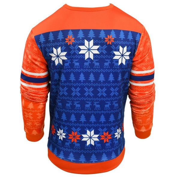 Forever Collectibles MLB Men's New York Mets Printed Ugly Sweater