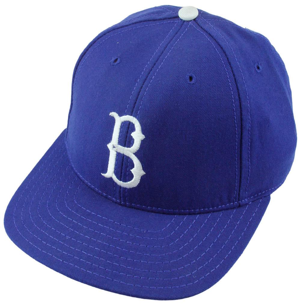 9d77e8f7efb4b American Needle MLB Brooklyn Dodgers 1939-57 Cooperstown Collection Fitted  Cap