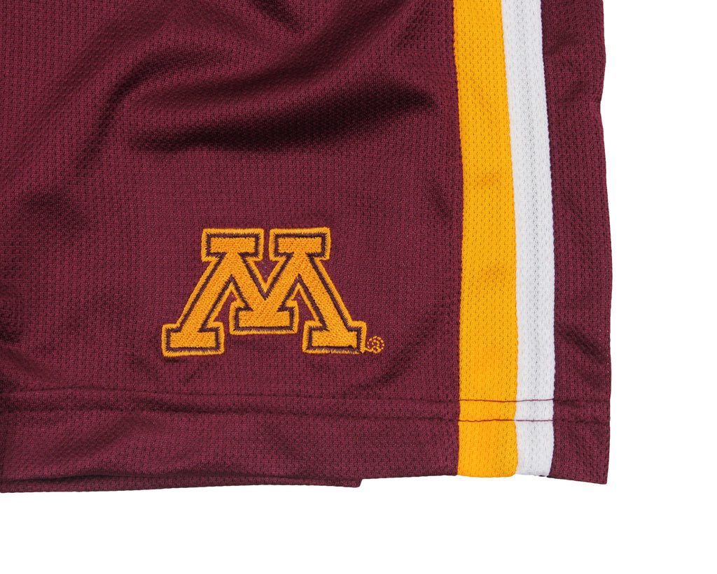 new concept 72a2c 64085 Nike NCAA Youth Minnesota Golden Gophers Team DriFIT Athletic Shorts,  Maroon. Previous
