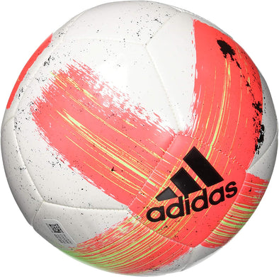 Adidas Capitano CLB Soccer Ball, White/Shock Red/Signal Green/Black