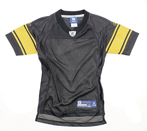 38f83dab Reebok NFL Football Youth Boys Pittsburgh Steelers Blank Replica Jersey -  Black