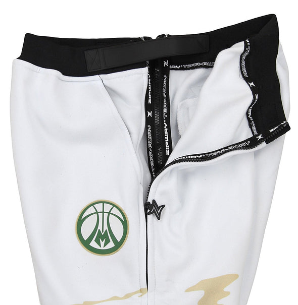 Zipway NBA Men's Milwaukee Bucks Hot Lava Tear-Away Pants