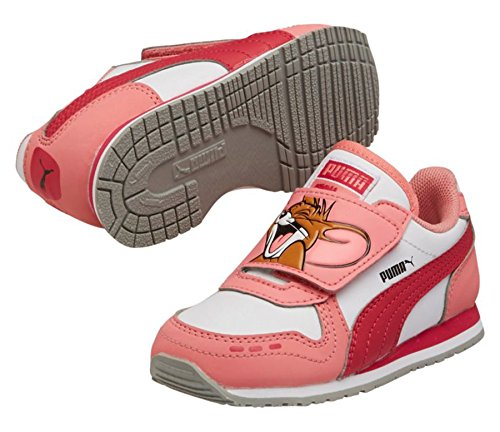 ac95ebd4a203 Puma Kids Cabana Racer Tom and Jerry Sneaker Shoes (Infant Toddler ...