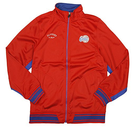 Zipway NBA Basketball Youth Los Angeles Clippers Tricot Track Jacket, Red