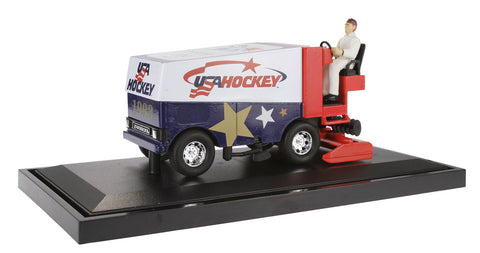 1998 Nagano Olympics Limited Edition USA Hockey Diecast Zamboni Coin Bank