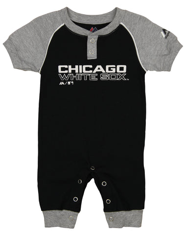 "Majestic MLB Infant Chicago White Sox ""Game Time"" Coverall"