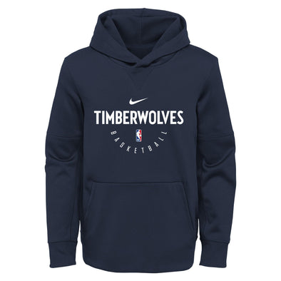 Nike NBA Basketball Youth Minnesota Timberwolves Spotlight Pullover Hoodie