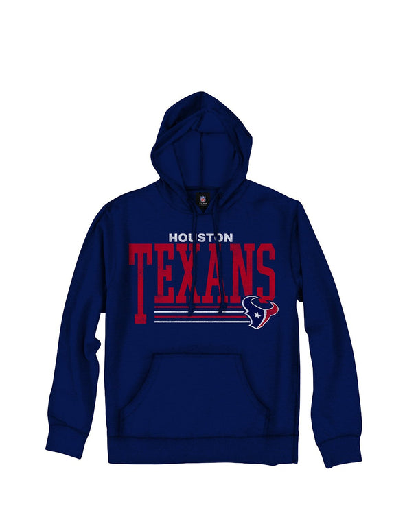 Houston Texans NFL Football Men's Fundamentals Pullover French Terry Hoodie