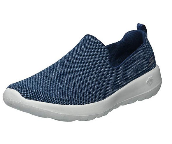 Skechers Women's Go Walk Joy Slip On Sneaker, Navy / Grey