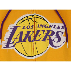 Zipway NBA Big and Tall Men's Los Angeles Lakers Hoodie Sweatshirt - Yellow
