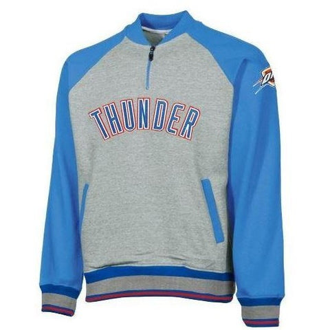 Oklahoma City Thunder NBA Big and Tall Mens Pullover Sweatshirt, Gray (3X-Lar...
