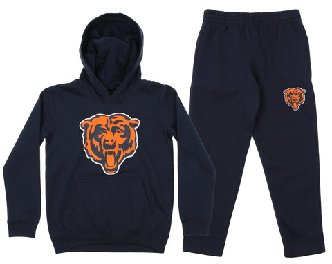 76b87ffada768 Outerstuff NFL Youth Chicago Bears Team Fleece Hoodie and Pant Set