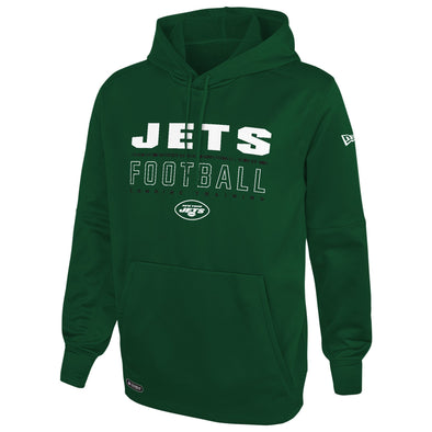 New Era NFL Football Men's New York Jets Audible Pullover Performance Hoodie