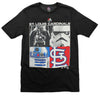 MLB Youth St. Louis Cardinals Star Wars Main Character T-Shirt, Black