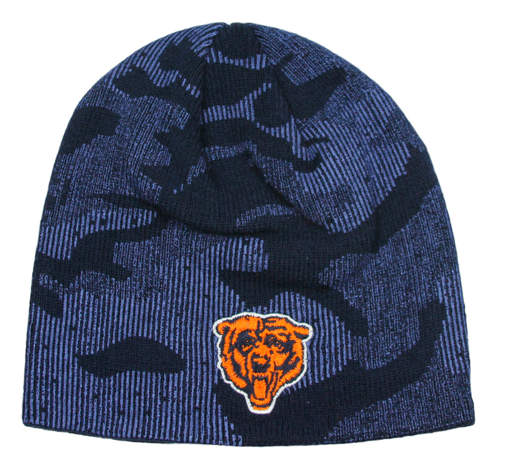 NFL Kids Chicago Bears Uncuffed Knit Beanie Hat - Navy (Sizes 4-7 ... 61f6132cc