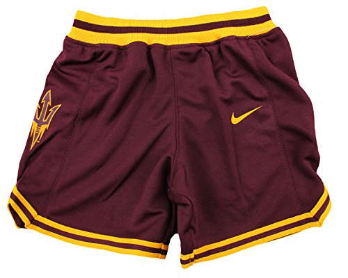 Nike NCAA College Toddlers Arizona State Sun Devils Basketball Shorts, Maroon