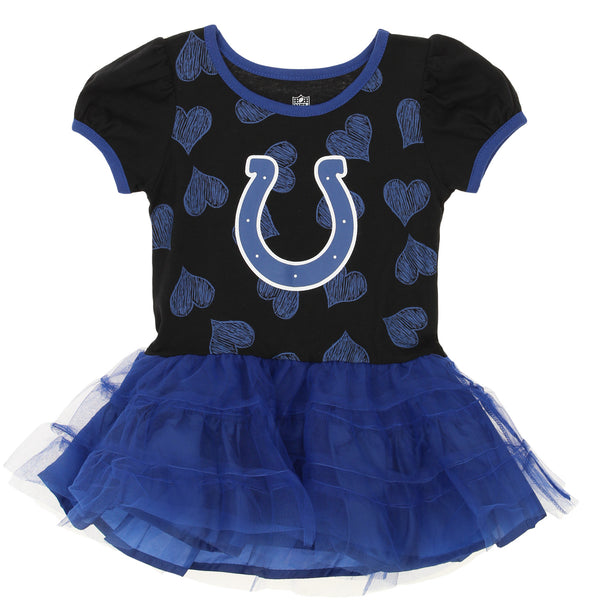 Outerstuff NFL Toddler Girls Indianapolis Colts Love to Dance Tutu Dress