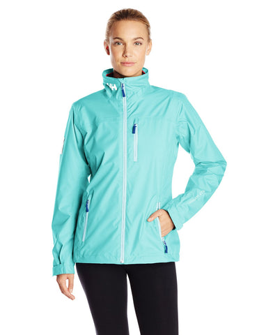Helly Hansen Women's Crew Midlayer Jacket, Blue & Teal