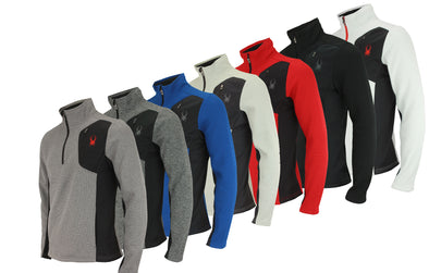 Spyder Men's Raider 1/4 Zip Sweater, Color Options