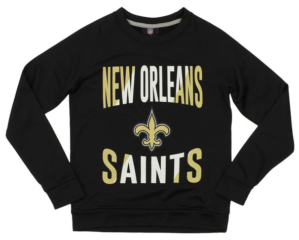 Outerstuff NFL Youth/Kids New Orleans Saints Performance Fleece Sweatshirt