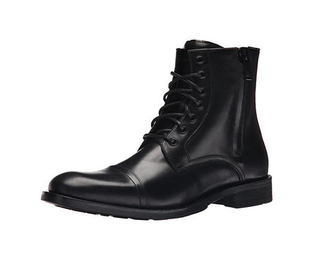 Kenneth Cole New York Men's Mind Over Matter Fashion Combat Boot, Black,