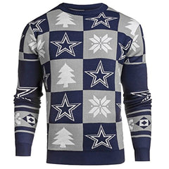Forever Collectibles NFL Men's Dallas Cowboys 2016 Patches Ugly Sweater