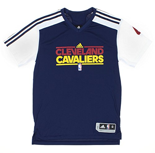 info for 2c2a1 4cf11 Adidas NBA Men's Cleveland Cavaliers Antawn Jamison #4 Gametime Shooting  Shirt, Navy