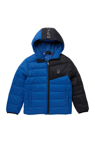 Spyder Kids (4-7) Ace Short Puffer Jacket, Color Options