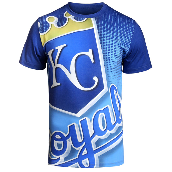 FOCO MLB Men's Kansas City Royals Big Logo Tee