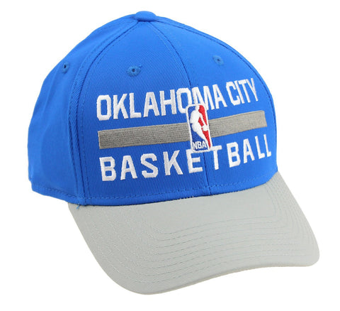 Adidas NBA Men's Oklahoma City Thunder Official Practice Flex Hat
