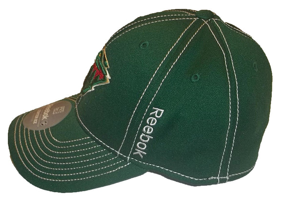 Reebok NHL Minnesota Wild Fitted Flexfit Hat