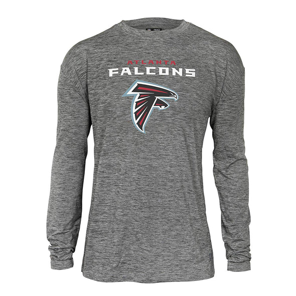 Zubaz NFL Men's Atlanta Falcons Long Sleeve Tee
