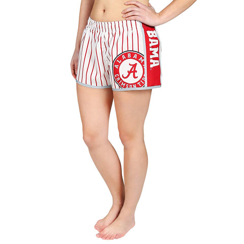 Forever Collectibles NCAA Women's Alabama Crimson Tide Pinstripe Shorts