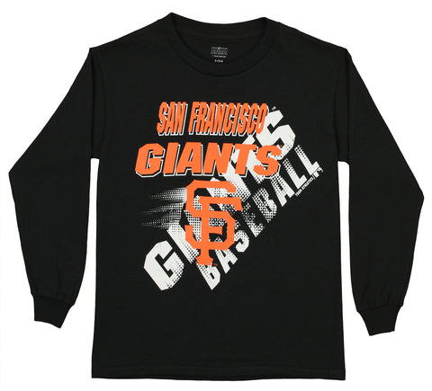 Outerstuff MLB Youth San Francisco Giants Long Sleeve Baseball Tee
