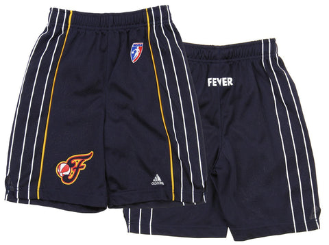 Adidas WNBA Youth Indiana Fever Replica Basketball Shorts, Navy