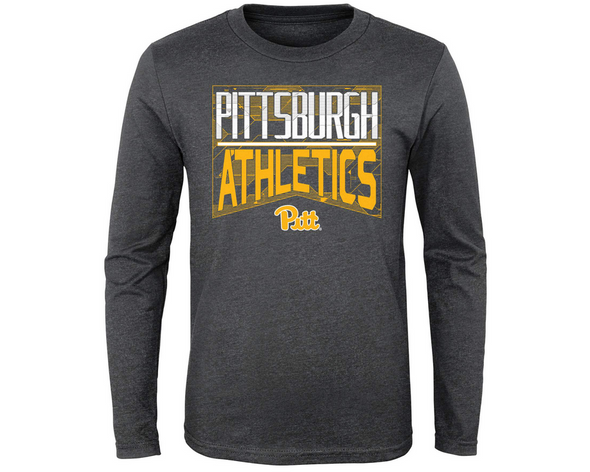 Outerstuff NCAA Youth (4-20) Pittsburgh Panthers Performance L/S Energy Tee