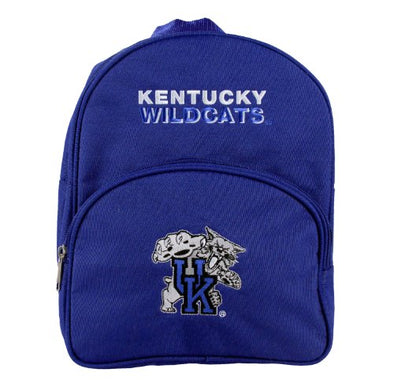 Kentucky Wildcats NCAA Kids Big Cat Logo Mini Backpack, Blue