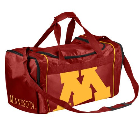 Forever Collectibles NCAA Minnesota Golden Gophers Core Duffle Bag