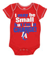 OuterStuff NBA Basketball Infant Los Angeles Clippers 3 Piece Bodysuit Creeper Set