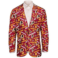 best sneakers aef5b c36c0 Forever Collectables NFL Men's Washington Redskins Ugly Business Jacket, Red