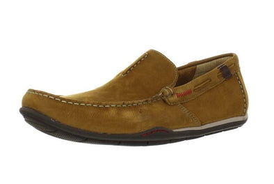 Clarks Men's Rango Rumba Loafers Driving Shoes - Tan and Brown