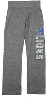 NFL Football Youth Girls Detroit Lions Fashion Lounge Pants, Heather Grey